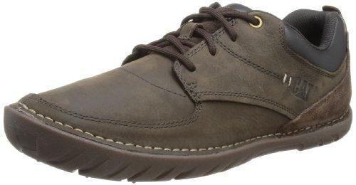 Oferta: 120.19€ Dto: -43%. Comprar Ofertas de CAT Zapatos de Cuero con Cordones para Hombre, Color Marrón (Café/Negro), Talla 43 EU (9 UK) barato. ¡Mira las ofertas!