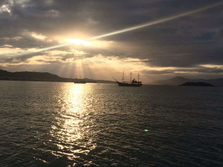 Sunset in canasvieiras