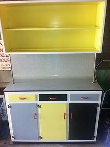 Retro vintage  1950's 1960's kitchen dresser (Ebay)