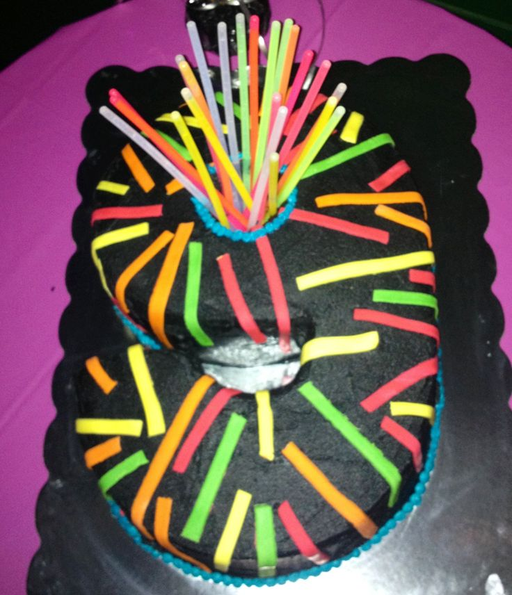 Laser Tag Cake For 9 Year Old