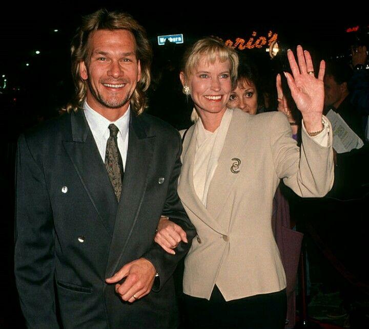 Patrick Swayze and Lisa Niemi 1990