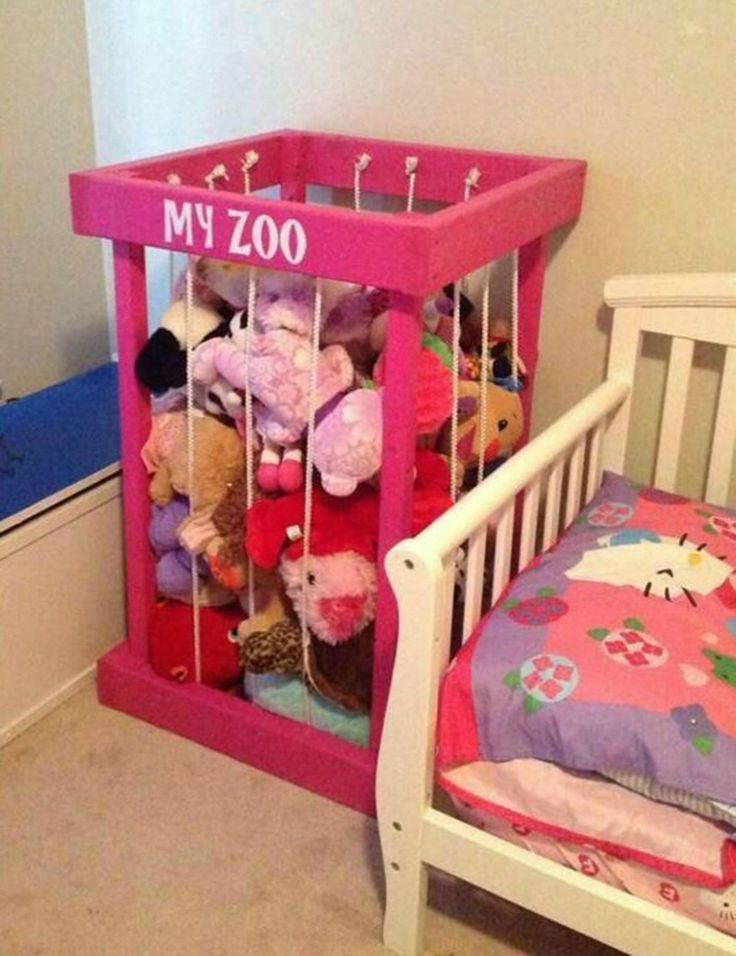 Toy box stuffed animal zoo stuffed animal storage toy storage my zoo toy organization kids room decor christmas present christmas gift