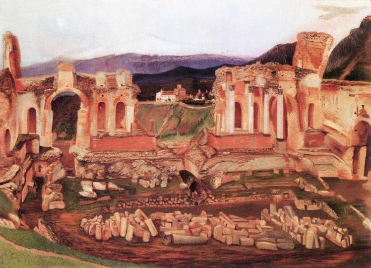 Csontváry Kosztka Tivadar A kis Taormina