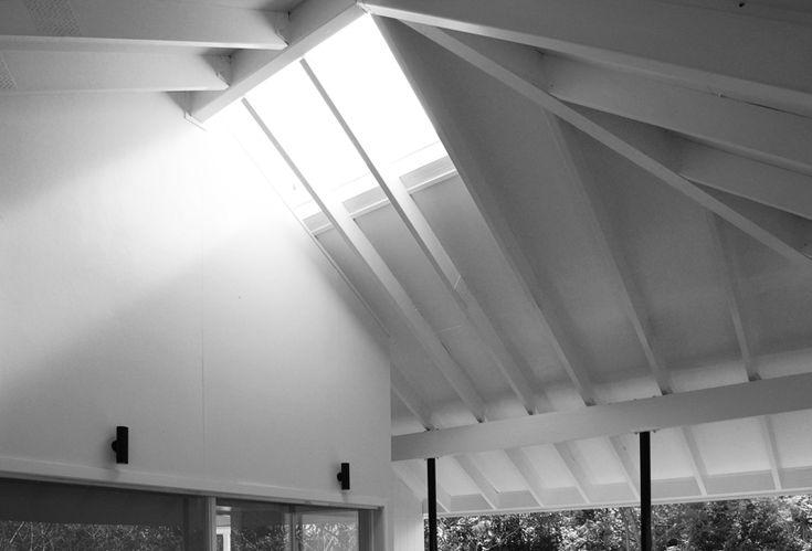 Tarragindi House, Zuzana&Nicholas Architects, Exposed Timber Roof Framing, Skylight, Outdoor Room