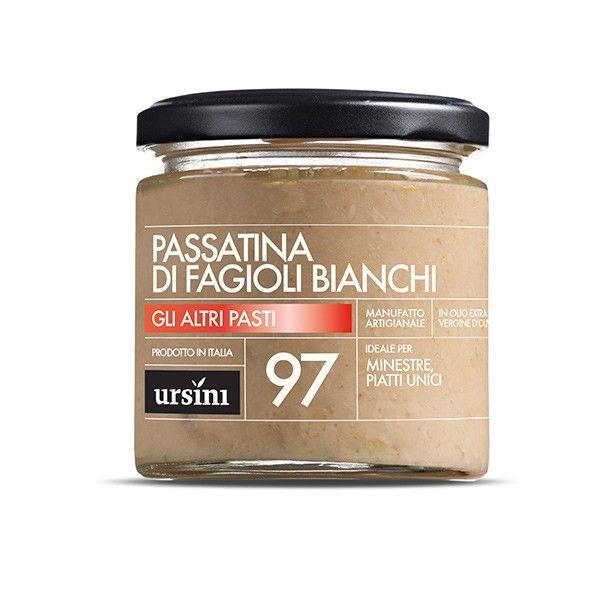 Vendita online | Passatina di Fagioli Bianchi vasetto da gr.200 conf. da 6 Ursini - Gastronomia - Prodotti Italiani