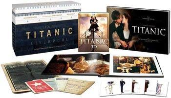 Titanic Collector's 6 disc Box (Blu-ray)