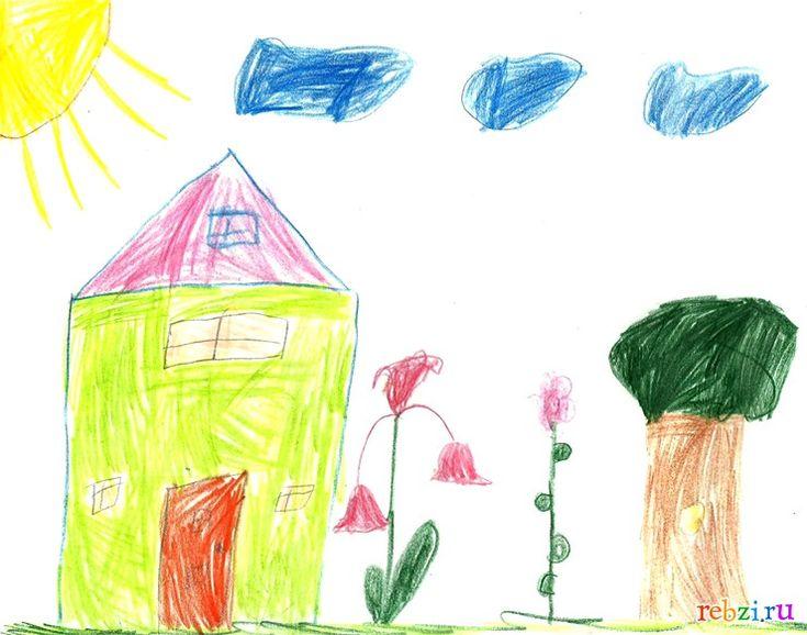Детский рисунок: Наступила  весна (Олеся, , 6 лет, Баку)