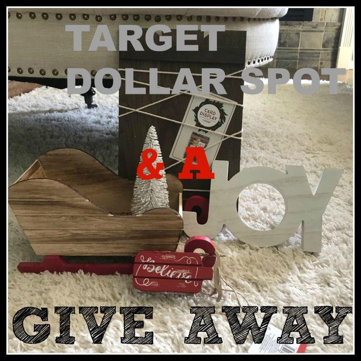 Target Dollar Spot Christmas Haul & A Giveaway