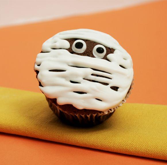 #cupcake #momia #diadelasbrujas #31deoctubre #diadelosniños