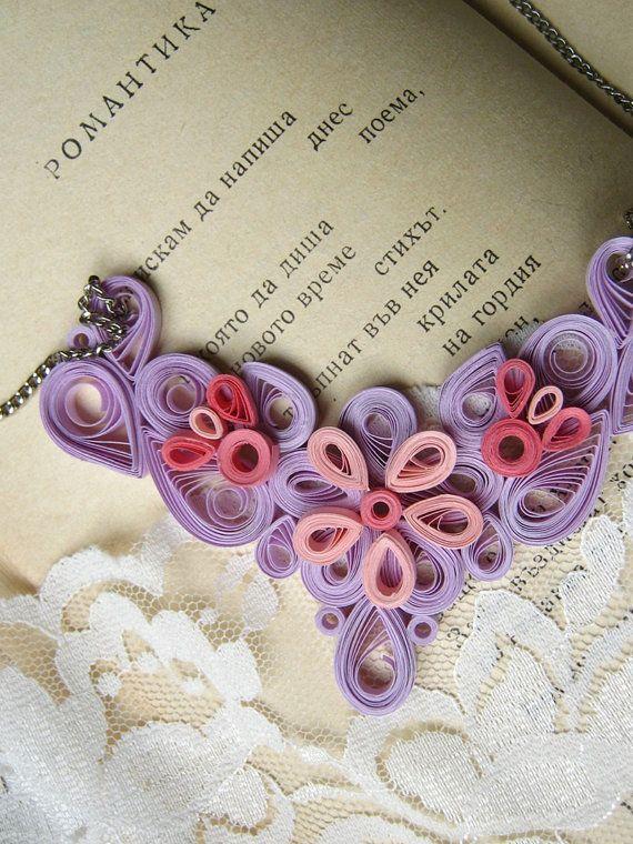 collar rosa polvoriento Pastel regalo para hermana regalo