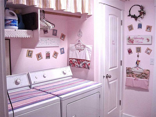 Cute Looking Shabby Chic Bedroom Ideas: Laundry Room Decor Images On