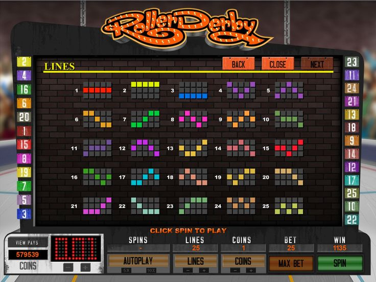 Roller Derby video slot is available for #play here: https://www.wintingo.com/games