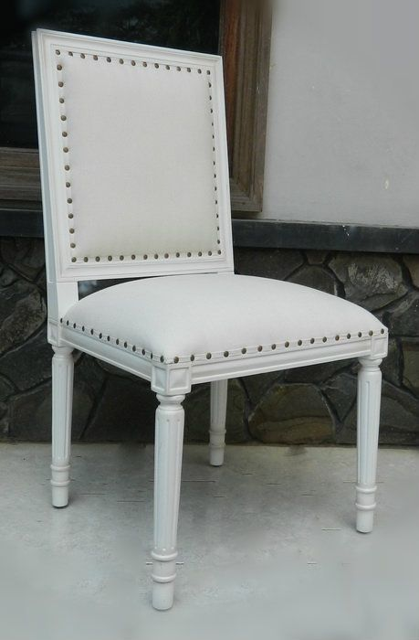 Ellis Dining Chair - White - Canalside Interiors