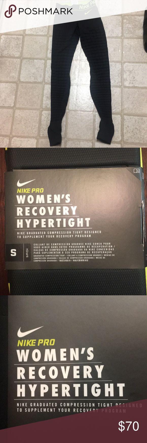 Nike Pro Women's Recovery Hypertight Leggings Women's size small Brand new  Case included Nike Pants Leggings