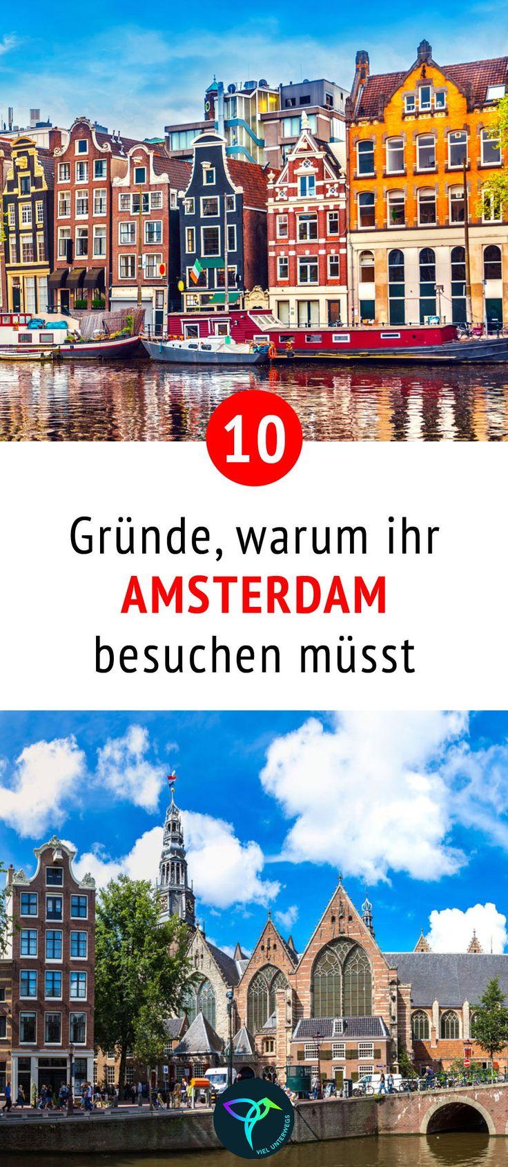 Die besten Amsterdam Tipps mit Sehenswürdigkeiten & Insider-Tipps