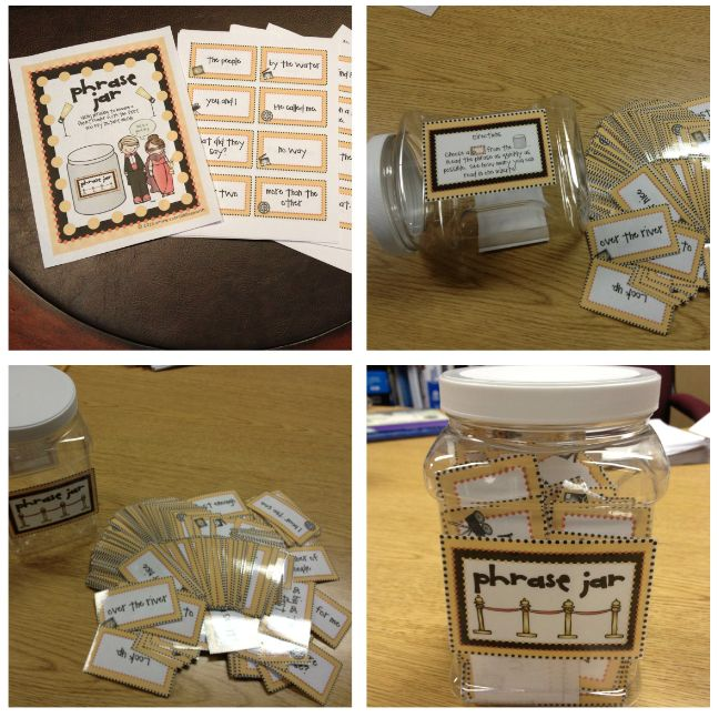 fashion rings for women Fluency   2  quot Phrase Jar quot   This jar can be used in centers  A student can reach in and choose a card  They can practice their fluency by reading them out loud  This can also be done in as a group and the whole class can choose one and share with the class