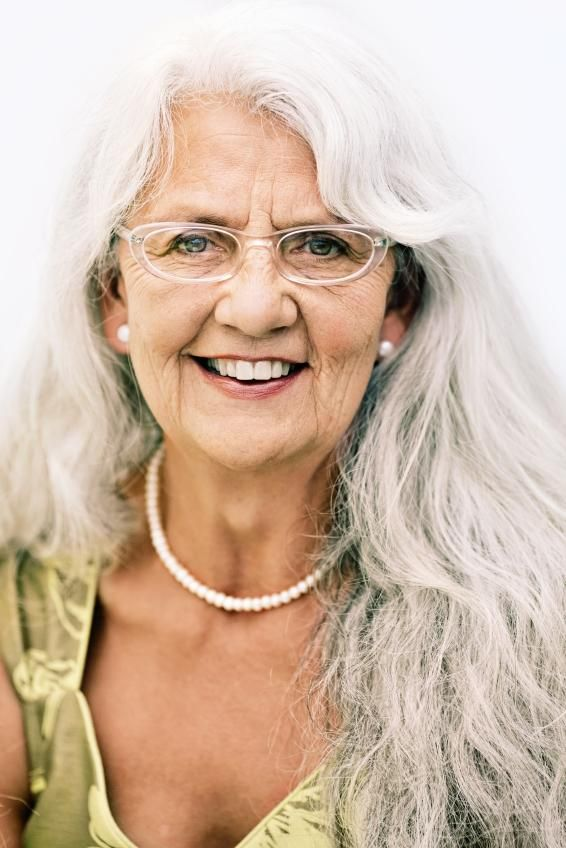 Long Hairstyles for Elderly Women [Slideshow]…
