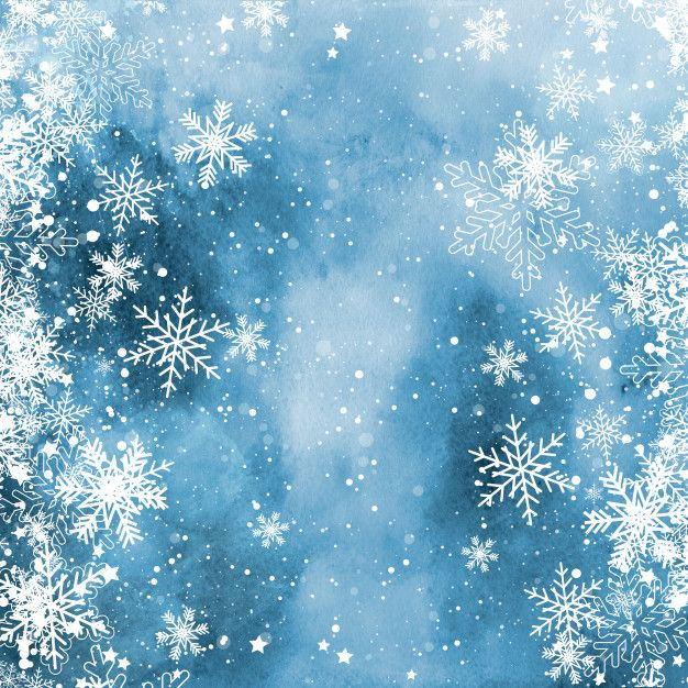 Christmas Snowflakes On A Watercolour Texture Free Photo Snowflake Wallpaper Christmas Snowflakes Wallpaper