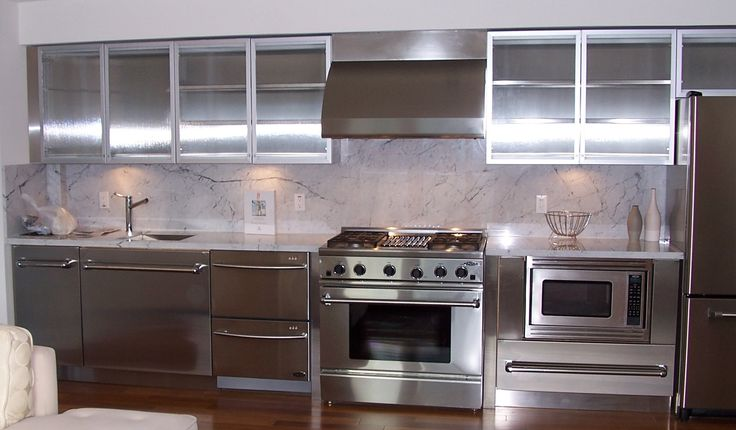 Stainless Steel Kitchen Wall Units