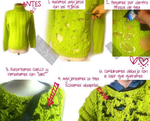 de Trasteando: Blog Diy, Diy Fashion, Nuestra Ropa, De Trasteando, Clothing, Trasteando Diy, Diy Con, Diy Ropa, Diy Jersey