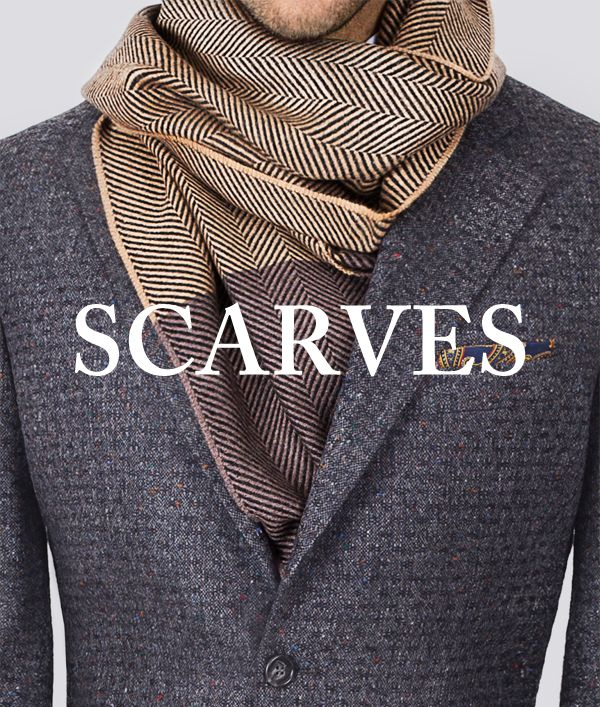 Original Italian 100% wool or pure cashmere scarves by Manifatture Alto Biellese 1947. #mensscarves