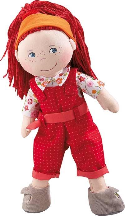 Muñeca Philippa de Haba. Con cinta para el pelo.