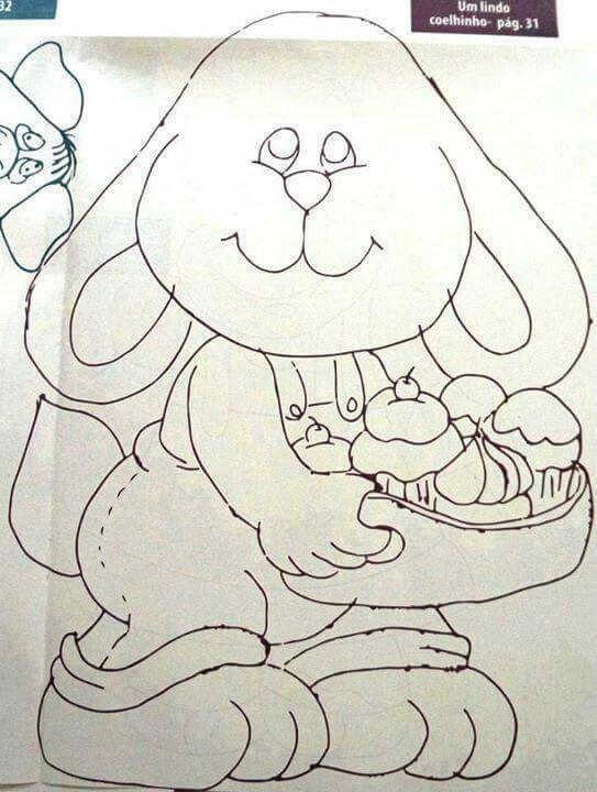 Risco do coelho
