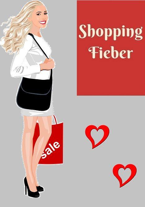Das ist mein neues selbstgemachtes Logo :-) Die besten Angebote nur einen Mausklick entfernt.  www.shopping-fieber.com