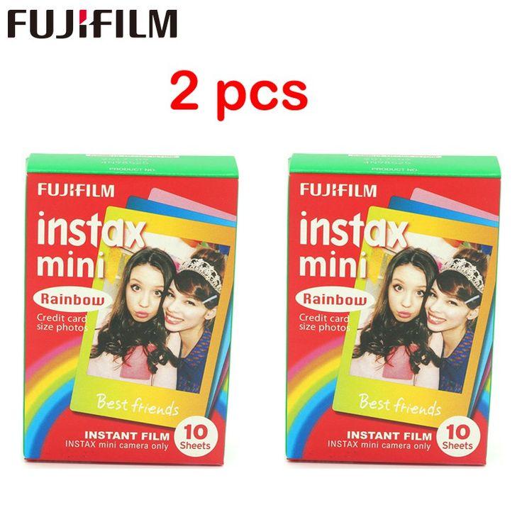 Cheaper US $17.70  2pcs Origiinal Fujifilm Instax Mini Instant Cartoon Film Rainbow 2 packs for polaroid Mini 7s 8 25 50s 90   #Origiinal #Fujifilm #Instax #Mini #Instant #Cartoon #Film #Rainbow #packs #polaroid  #CyberMonday