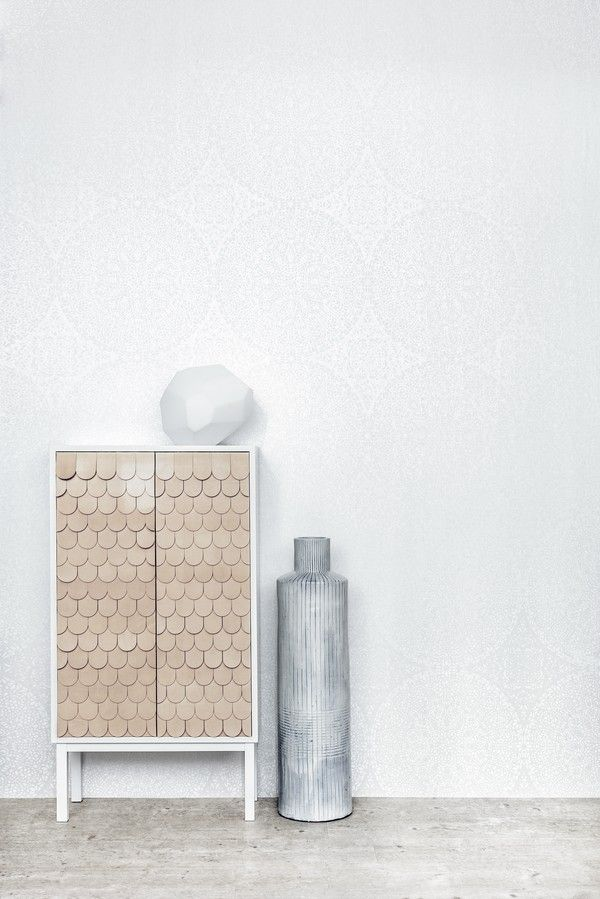 White Light wallpapers, styling by Guts