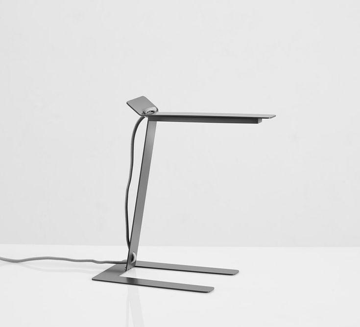 Benshee, grey • Designed by Jannis Ellenberger #tablelamp #lamp #light #design #WOUDdesign