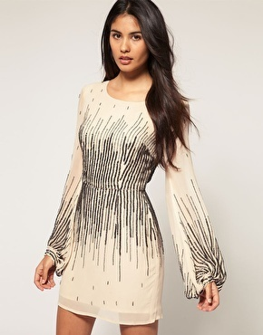 Enlarge ASOS Dress with Scattered Sequin