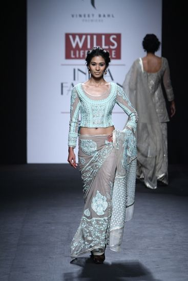Vineet Bahl at Wills Lifestyle India Fashion Week A/W 2014