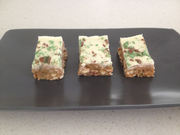 Chocolate Peppermint Crisp Slice