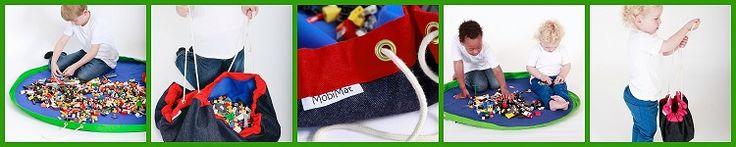 playmat that becomes toy storage bag | MooMoo