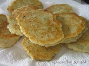 These are like fritters, but for the sake of my fussy Miss 3 we call them pancakes and she loves them. They are great as an accompaniment to a main meal,  for brunch or as an easy dinner just on their own. They are quick to make in the Thermomix and suitable for the failsafe diet. [...]