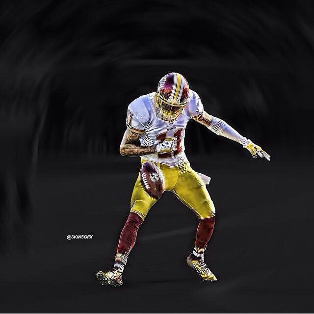 Awesome DeSean Jackson fan art from @skinzdesignz! Thanks for sharing and #HTTR!