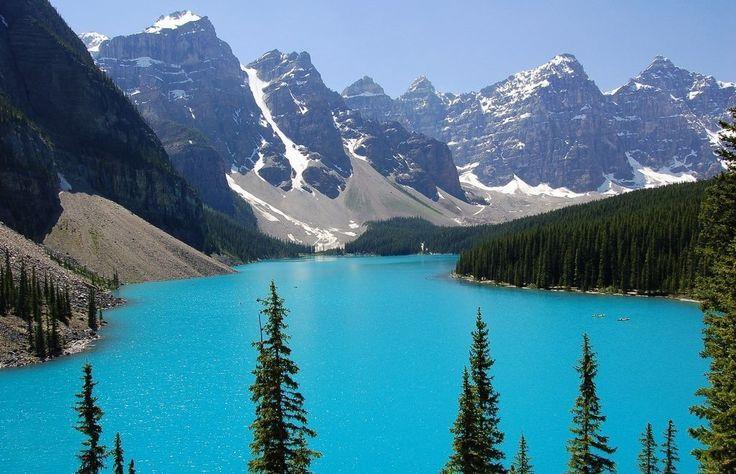 Самые красивые озера планеты – 105 фотографий