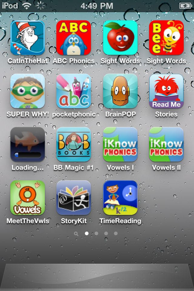 Reading apps- Less angry birds and more of this!