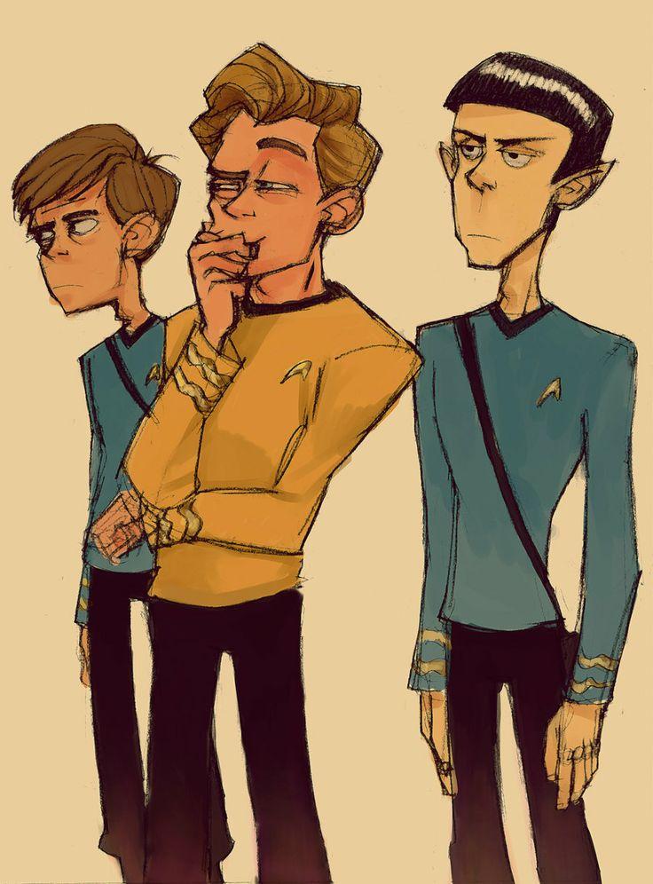 The Three Amigos by ~bloochikin on deviantART - Star Trek