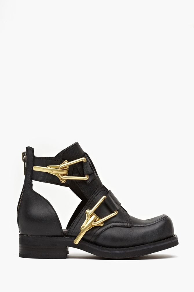 The Balenciaga cut-out boots sold out - twice - so check out Nasty Gal's Roscoes, instead! $248