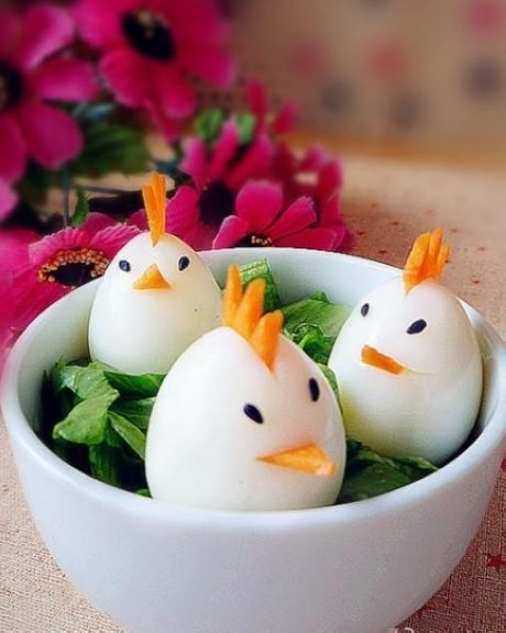 Creative eggs are designed for the babies who doesn't eat eggs.