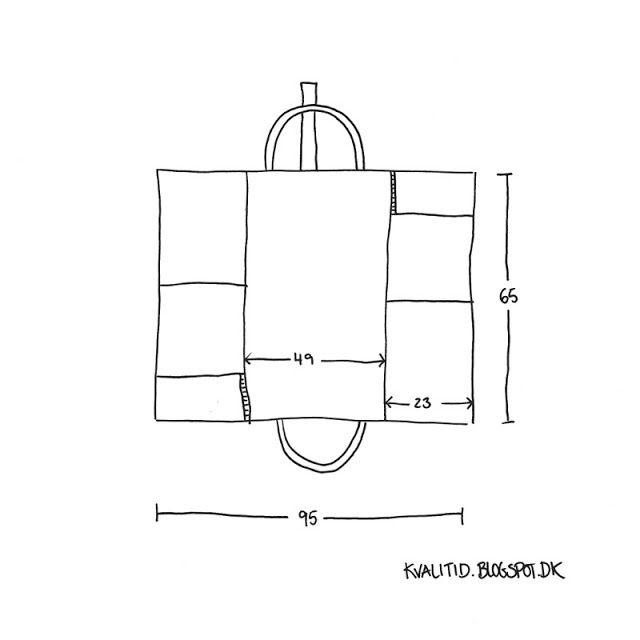 Opskrift på pusletaske – DIY… – kvalitid