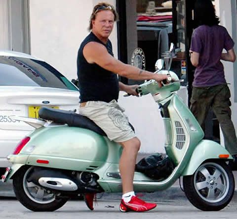 17 Best Images About Famous People Who Ride Scooters On