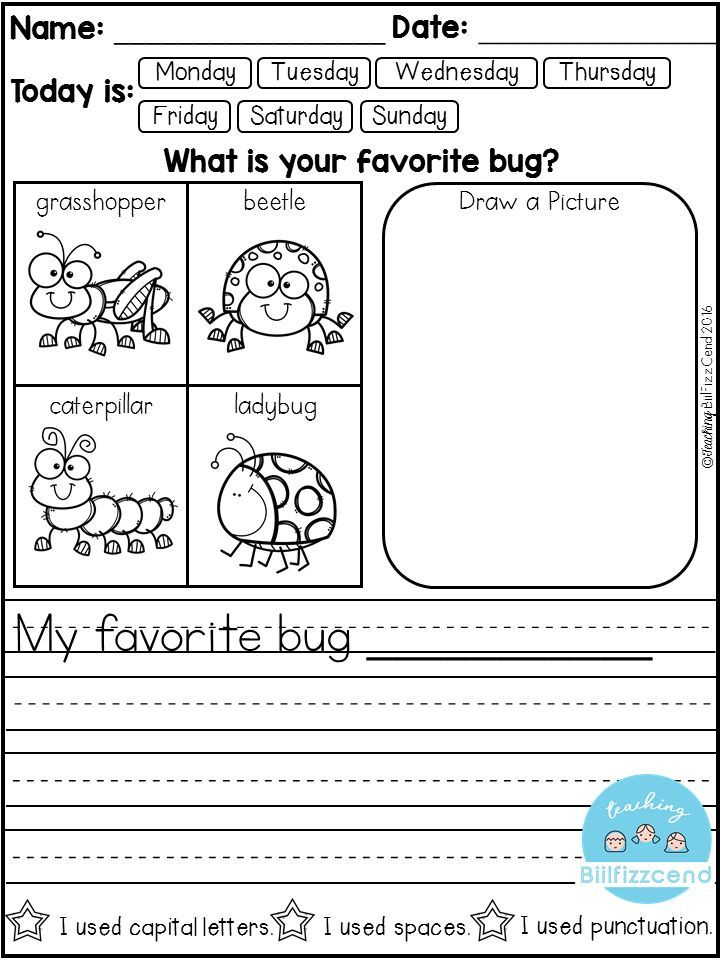 kindergarten writing prompts with pictures Writing stories worksheets and printables for some kids, creative writing comes naturally for others, it's a challenge that at times can be overwhelming and.