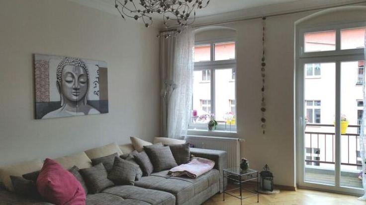 Inspiration F U00fcr Eine Sch U00f6ne Wohnzimmereinrichtung Mit Grauem Sofa