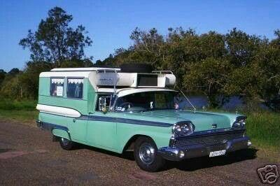 Ever seen a 59' Ford camper car?