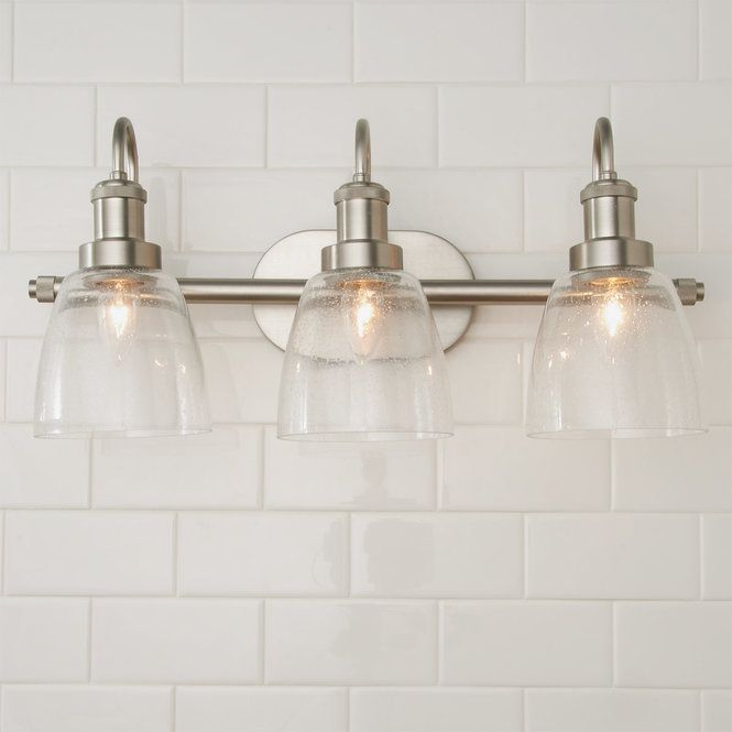 Versatile Vanity Light 3 Light Vanity Lighting Stylish Bathroom Bathroom Themes