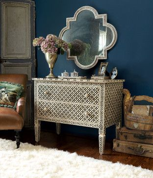 Marrakesh Inlay Chest - mediterranean - Dressers Chests And Bedroom Armoires - Other Metro - Soft Surroundings
