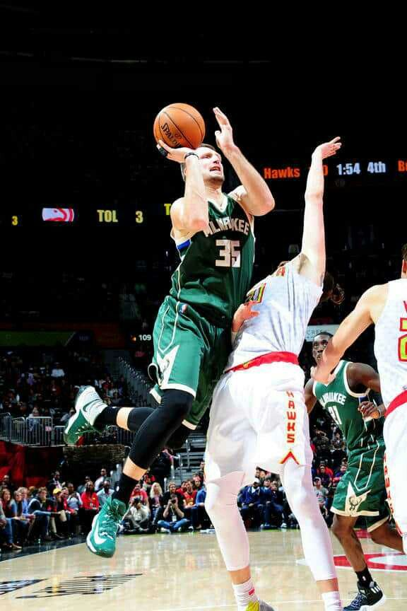 Milwaukee Bucks - Mirza Teletovic - 2016-17